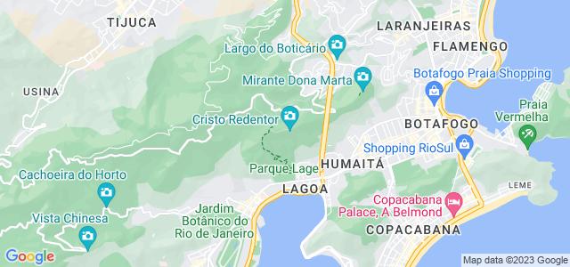 Morro do Corcovado, Parque Nacional da Tijuca - RJ