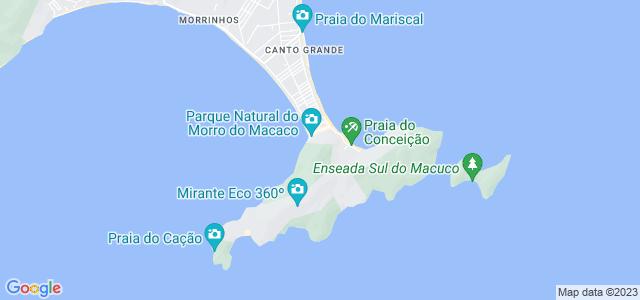 Morro do Macaco, Parque Municipal do Morro do Macaco, Bombinhas - SC