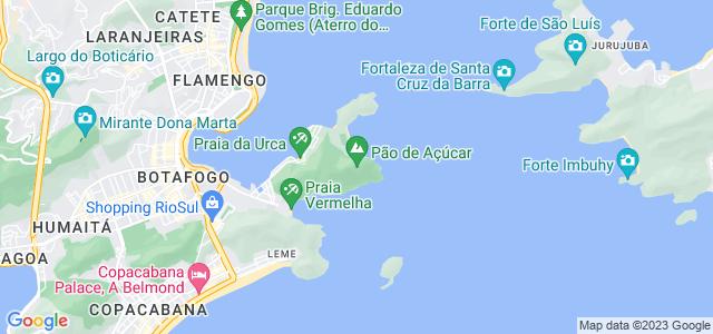 Morro do Pão de Açúcar, Urca, Rio de Janeiro