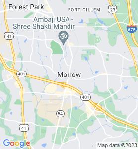 Morrow GA Map