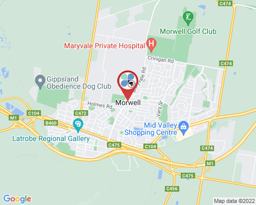 Morwell google map
