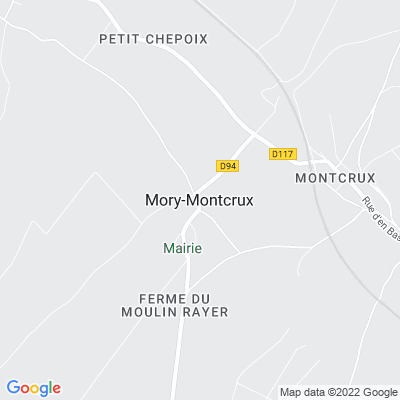 bed and breakfast Mory-Montcrux