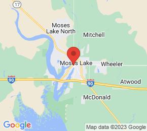 Job Map - Moses Lake, Washington  US