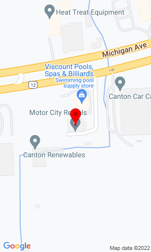 Google Map of Motor City Rentals & Sales 19146 W Georgia Avenue , Litchfield Park, AZ, 85340
