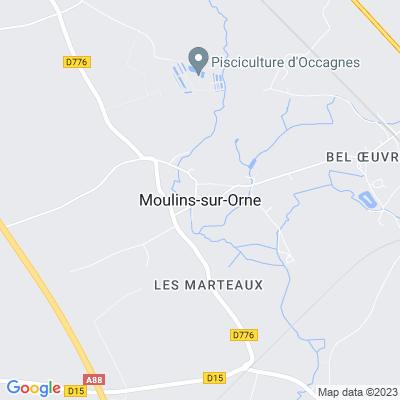 bed and breakfast Moulins-sur-Orne