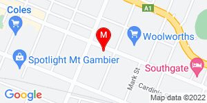 Google Map of Mount Gambier Community Corrections