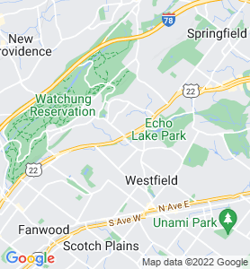Mountainside NJ Map