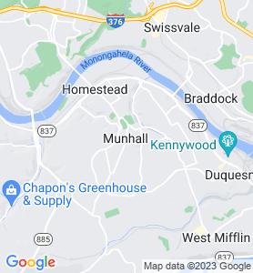 Munhall PA Map