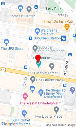 Google Map of Municibid 1608 Walnut Street, Floor 12, Philadelphia, PA, 19103