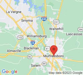 Job Map - Murfreesboro, Tennessee 37129 US