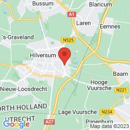 Google map of Gemeentewerf, Hilversum