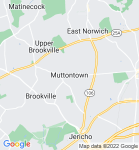 Muttontown NY Map