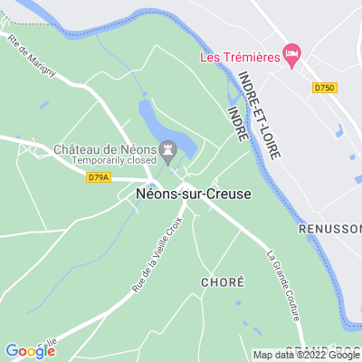 bed and breakfast Néons-sur-Creuse