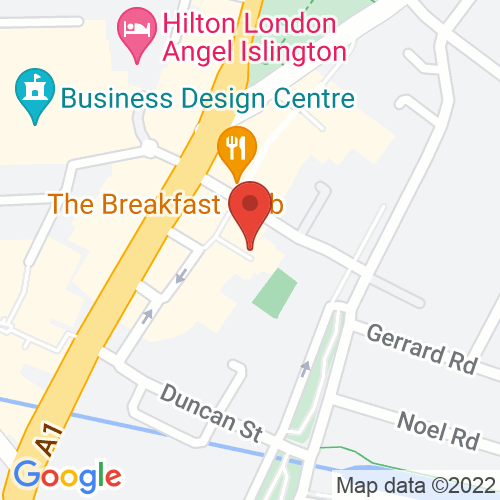 Google Map of Kevin Page Oriental Art Ltd