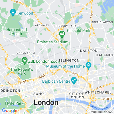 Thornhill Crescent Location