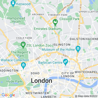 Caledonian Road Triangle Location