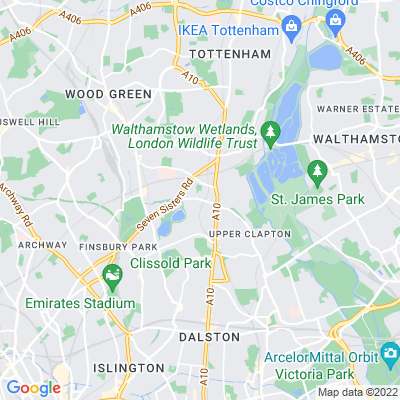 Stamford Hill Strips Location
