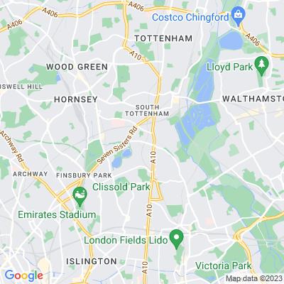 Stamford Hill Strips Location