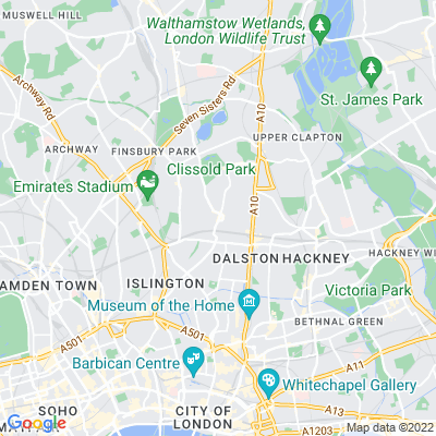 Newington Green Location