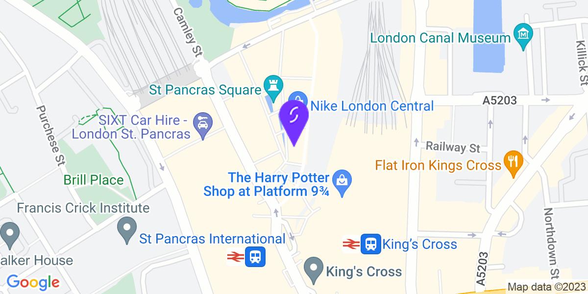 Google Map of N1C 4AG
