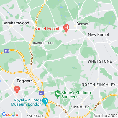 Totteridge Common Location
