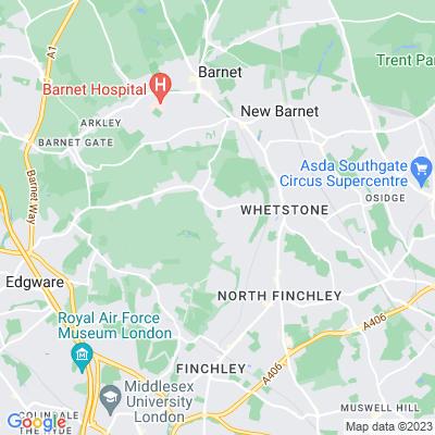 Totteridge Green Location