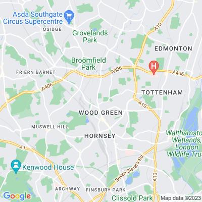 Riversdale Gardens Location