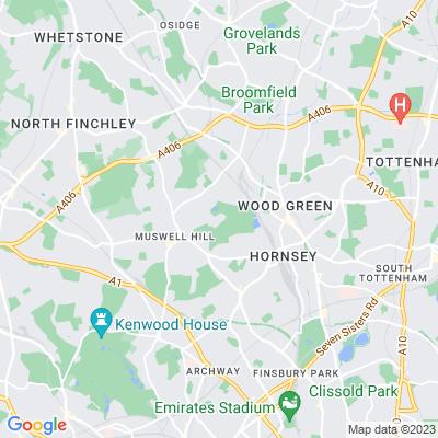 Alexandra Palace, Hornsey Location