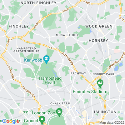 Highgate School, Old Chapel and Burial Ground Location