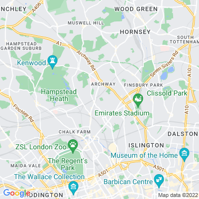 Tufnell Park Playing Fields Location