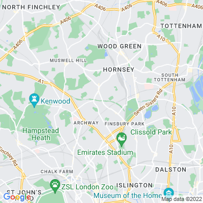 Crouch Hill Park Location