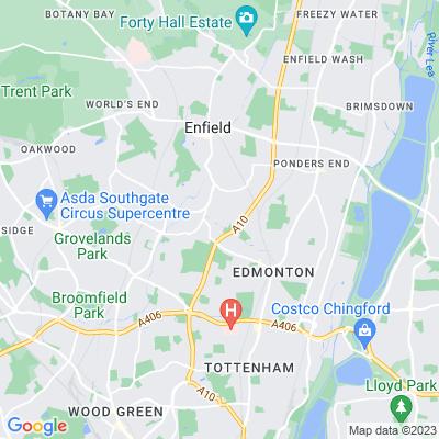 Salisbury House Arts Centre Location