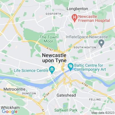 University of Durham Newcastle Division Memorial Quadrangle Location
