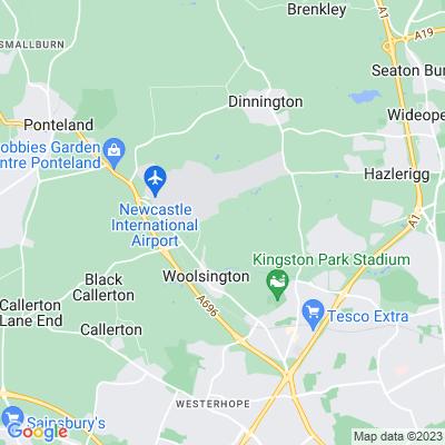 Woolsington Park Location