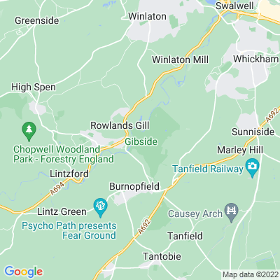 Gibside Location