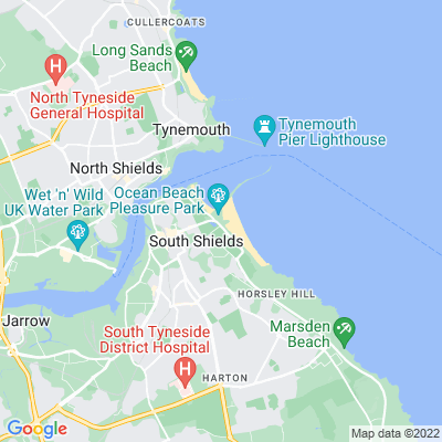 North and South Marine Parks Location