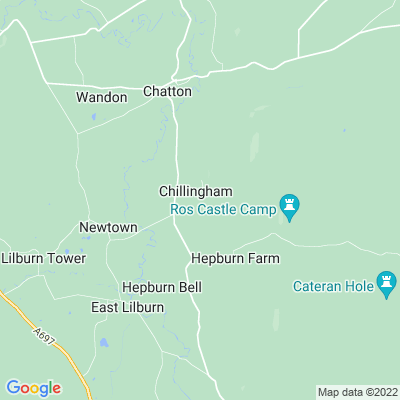 Chillingham Location