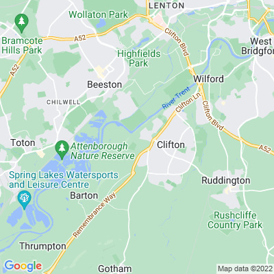 Clifton Hall Location