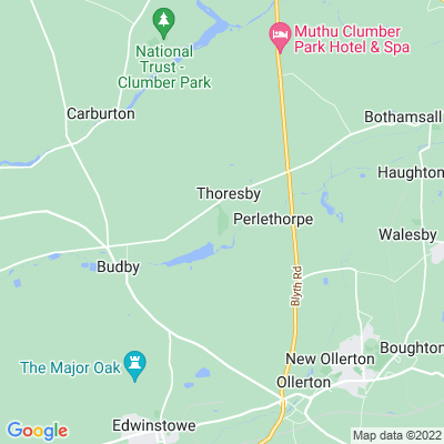 Thoresby Park Location