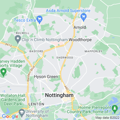 Bagthorpe Gardens Location
