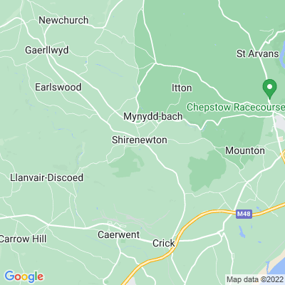 Shirenewton Hall Location