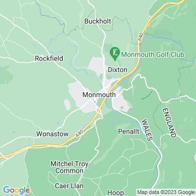 Chippenham, Monmouth Location