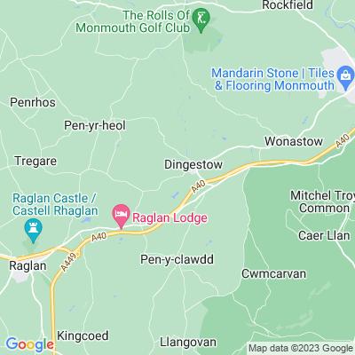 Dingestow Court Location
