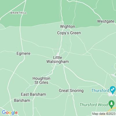 Memorial Recreation Ground, Little Walsingham Location