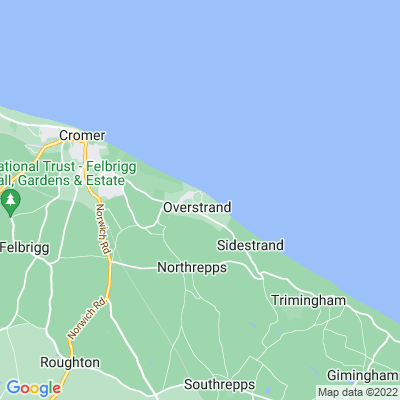 Pleasaunce, The, Overstrand Location