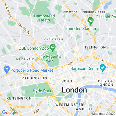 Camden Gardens Location