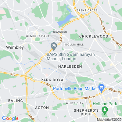 West London Crematorium Gardens Location