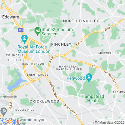 Willifield Green, Hampstead Garden Suburb Location