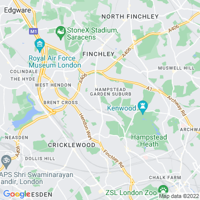 Hill, The, Hampstead Location