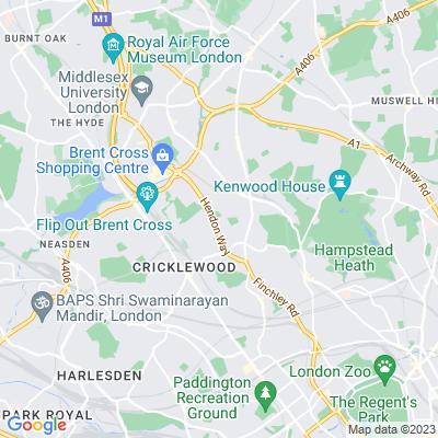 Basing Hill Park Location